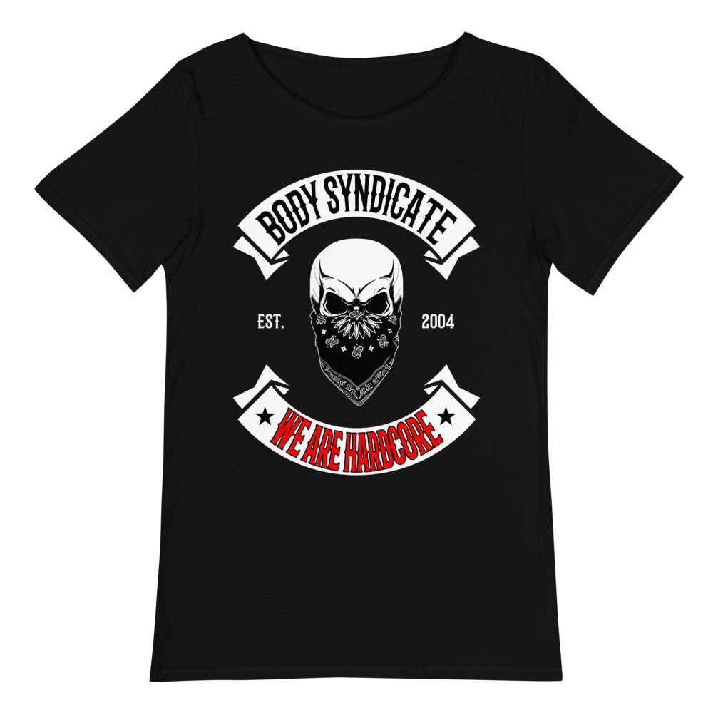 BODY SYNDICATE - Outlaw Skull 2 - Raw Neck T-Shirt