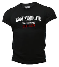 Upload the image to the gallery viewer, BODY SYNDICATE - Kreuzberg Berlin T-Shirt - Worldwide Syndicate Collection