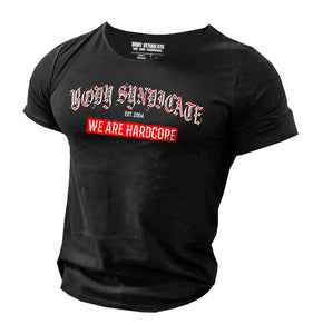 BODY SYNDICATE - Oldschool 2 - Raw Neck T-Shirt