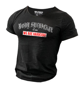 BODY SYNDICATE - Oldschool - Raw Neck T-Shirt