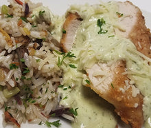Load image into Gallery viewer, Pesto Cream Chicken Breast