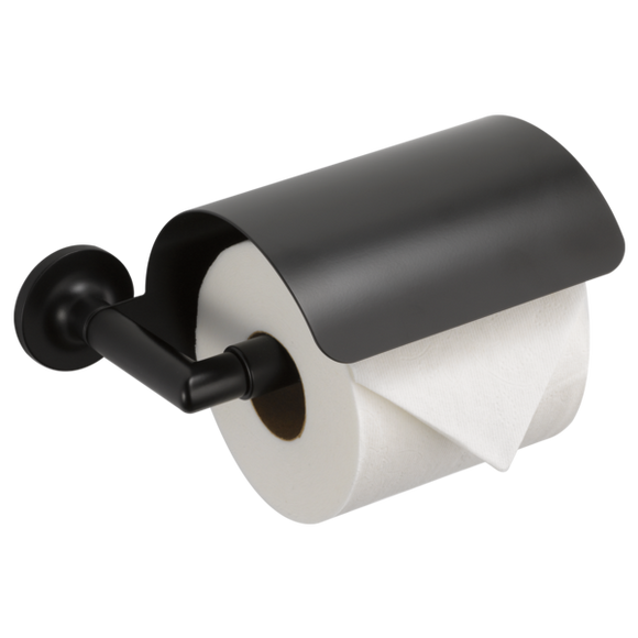 Brizo | Odin Wall Mount Tissue Holder in Matte Black