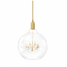Load image into Gallery viewer, Mineheart | Gold King Edison Grande Pendant Lamp
