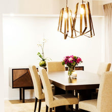 Load image into Gallery viewer, Arteriors Home | Adele 1 Light Brass Pendant
