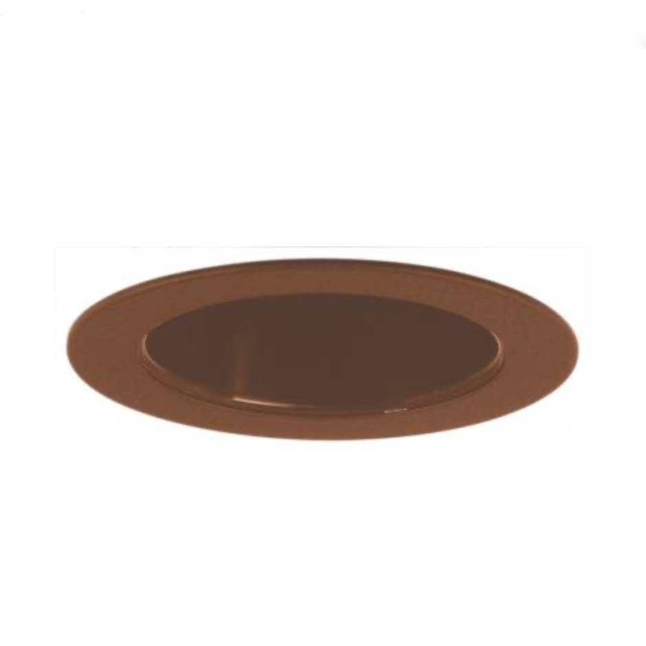 "ELCO Lighting | 4"" Reflector Trim in Bronze"