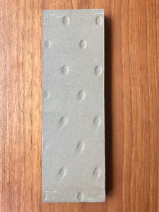 "Heath Ceramics Light Grey Whale Tile 2"" x 6"""