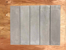 "Load image into Gallery viewer, Concrete Collaborative Taupe Concrete Tiles 6"" x 24"""