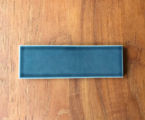 "Heath Ceramics  Heron Blue 2"" x 6"" Tile, approx 10 sq. ft."