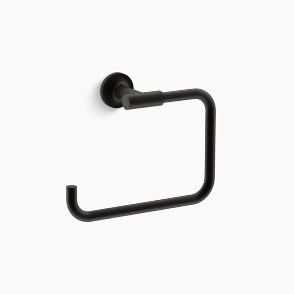 Kohler | Purist Towel Ring in Matte Black