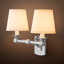 Load image into Gallery viewer, Restoration Hardware | Campaign Double Sconce