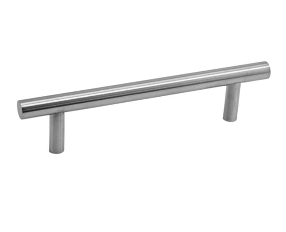 Linnea | Bar Cabinet Pull, in Satin Stainless Steel