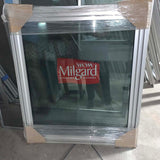 Milgard Alum. Window - Full Casement W33.5 H38.5