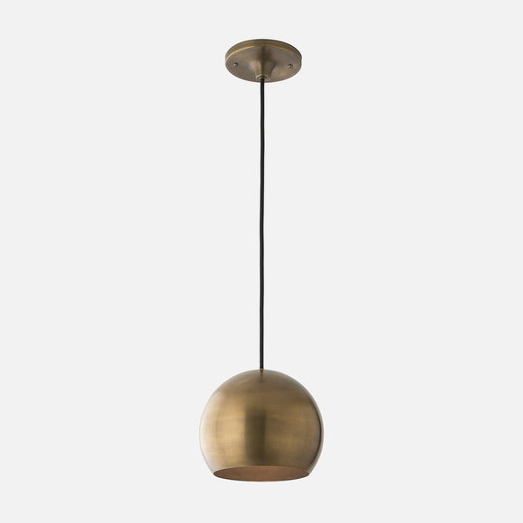 Schoolhouse Electric | Isaac Pendant-Natural Brass