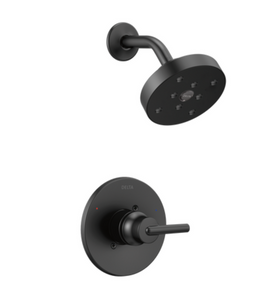 Delta | Trinsic Monitor 14 Series H20kinetic Shower Trim in Matte Black