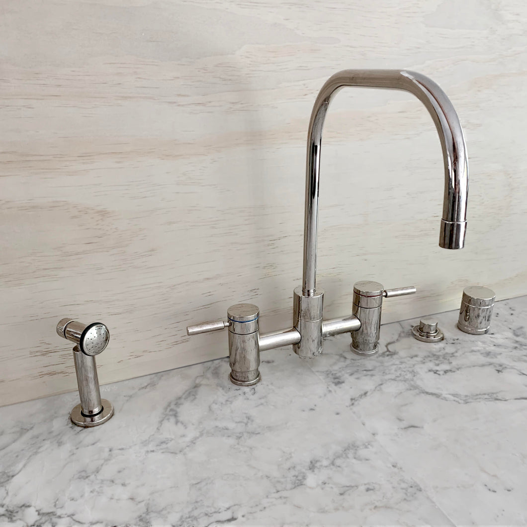 Waterstone Fulton Bridge Faucet with Accessories