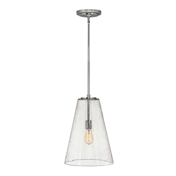 Hinkley | Vance Pendant Light in Polished Nickel.