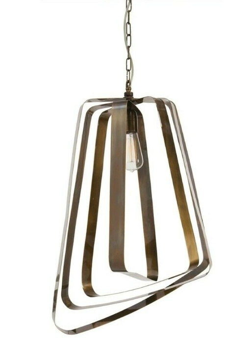 Arteriors Home | Adele 1 Light Brass Pendant