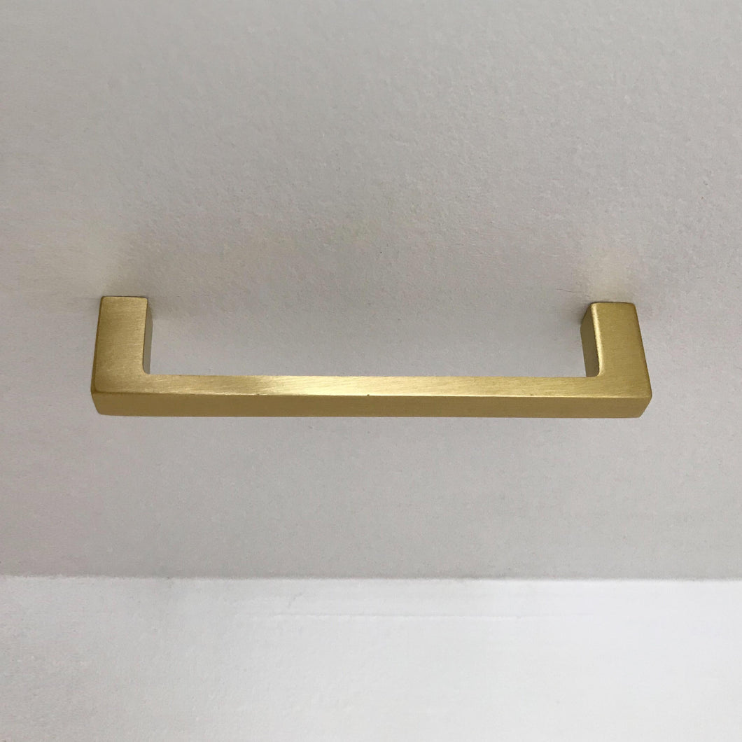 Schoolhouse Electric-Greenwood Pull in Natural Brass