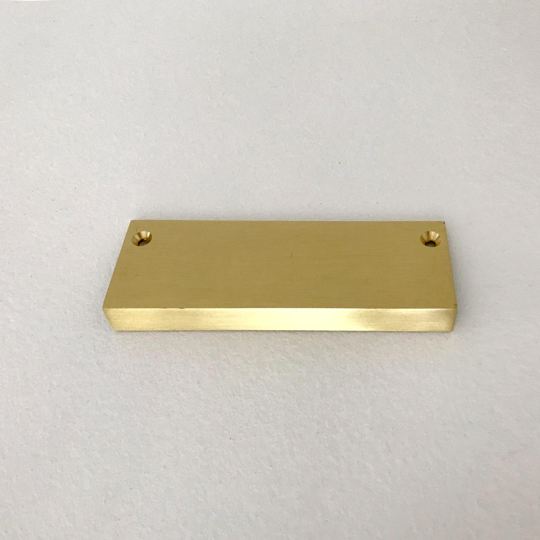 Schoolhouse Electric-Ledge Pull Natural Brass