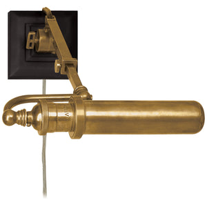 Visual Comfort and Co. | Thomas O'Brien Modern Academy Map Light In Hand-Rubbed Antique Brass
