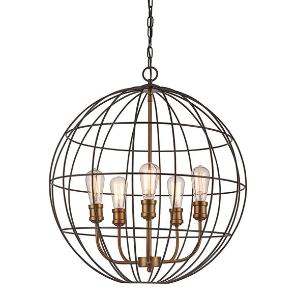 Transglobe Lighting | Industrial Sphere Pendant