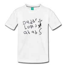 Load image into Gallery viewer, Daddy Loves Quads (Kids) - white