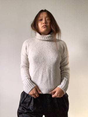 Light Grey Turtleneck