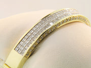Invisible Set Diamond Bangle