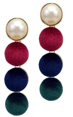Velvet Long Earrings