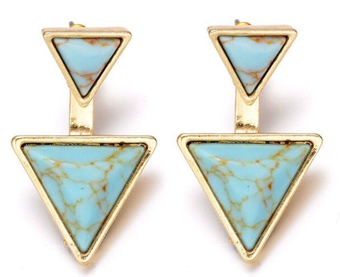 Pyramid Boho Earrings