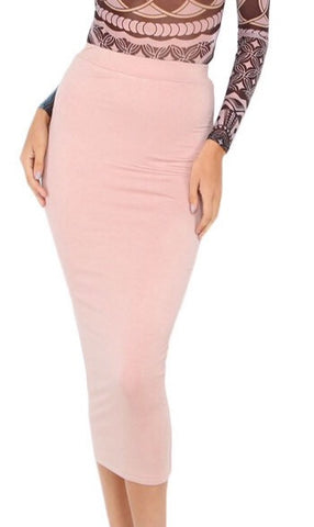 Millennium Stretch Midi Skirt