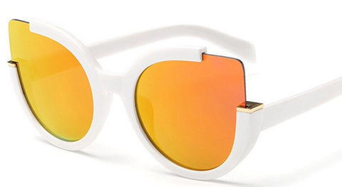 Oversized Eclipse Sunglasses