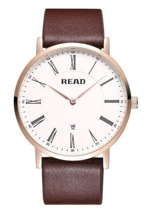 Genuine Leather Classic Watch