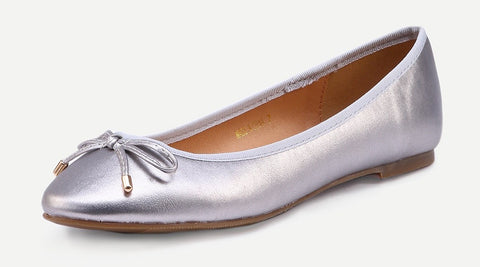 Bow Front Ballet Flat