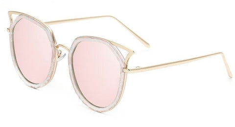 Cat Eye Marble Sunglasses