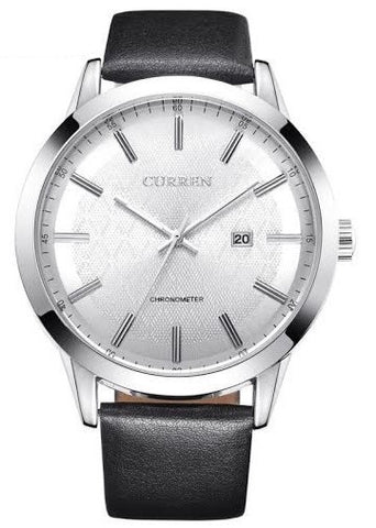 Classic Staple Leather Watch