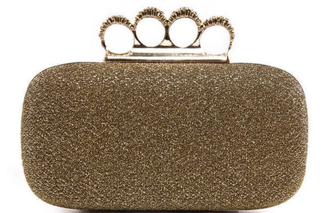 Glam Knuckle Clutch