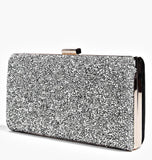 Bedazzled Crystal Clutch Bag