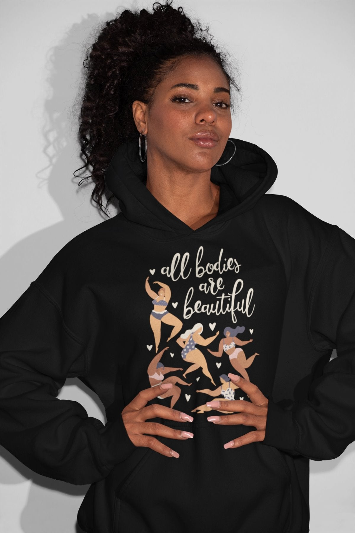All Bodies Are Beautiful - Hooded Sweatshirt