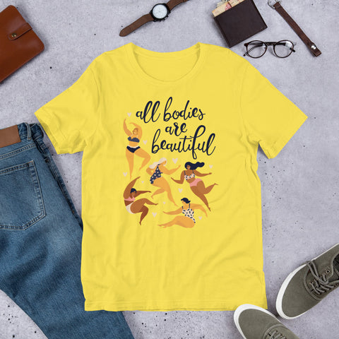 All Bodies Are Beautiful - Unisex Shirt