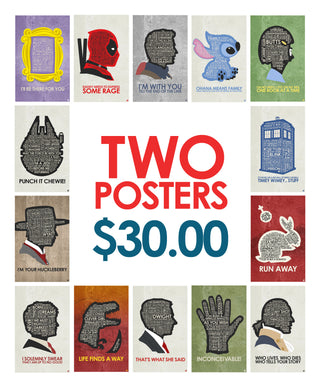 2 Poster Deal