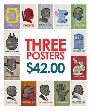 3 Poster Deal