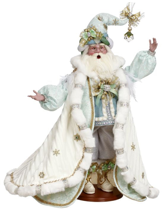 MARK ROBERTS | WINTER ELEGANCE SANTA - LIMITED EDITION | DESTINATION CHRISTMAS