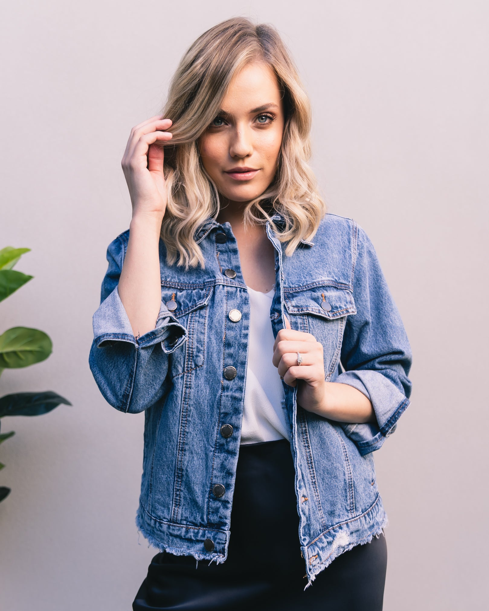 Perry Boyfriend Denim Jacket