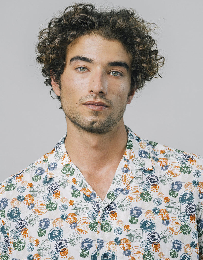 Camisa Airmail - Tequila Sunset
