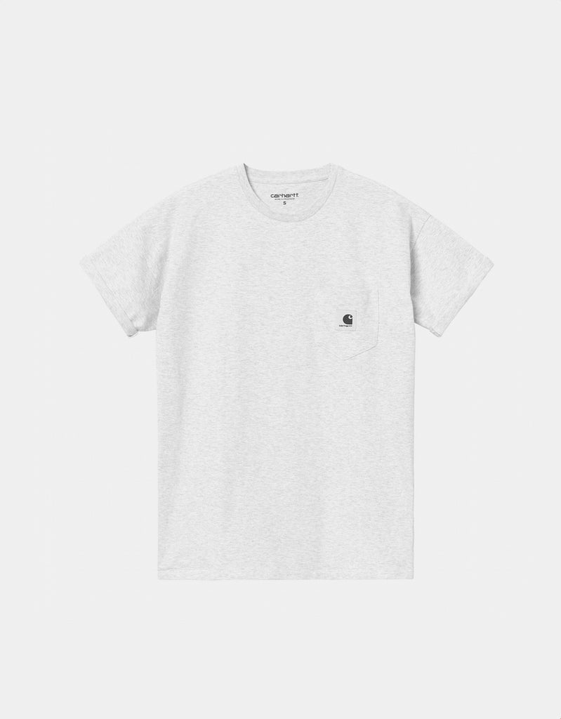 Camiseta W' S/S Pocket T-Shirt - ash heather