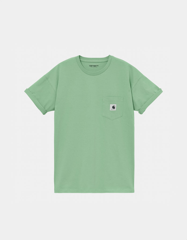 Camiseta W' S/S Pocket T-Shirt - mineral green