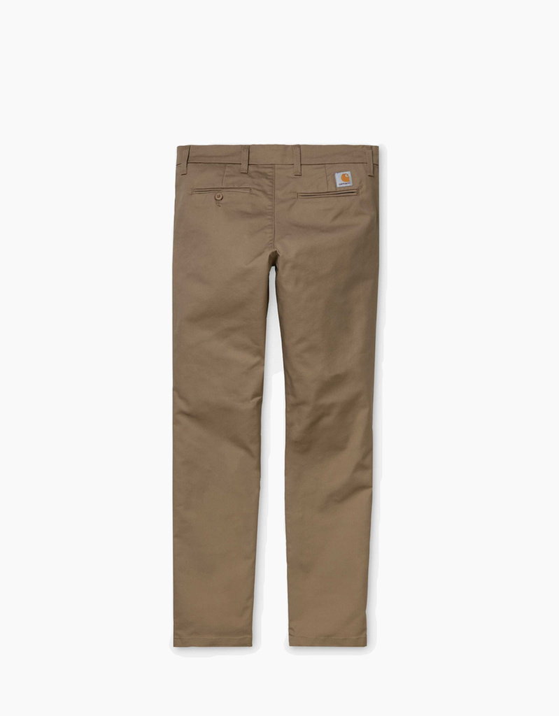 Pantalón Sid - leather rinsed - Tequila Sunset