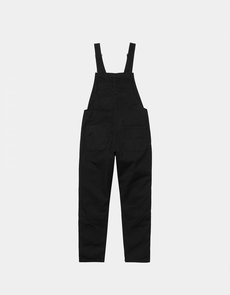 Peto W' Bib Overall - black rinsed - Tequila Sunset