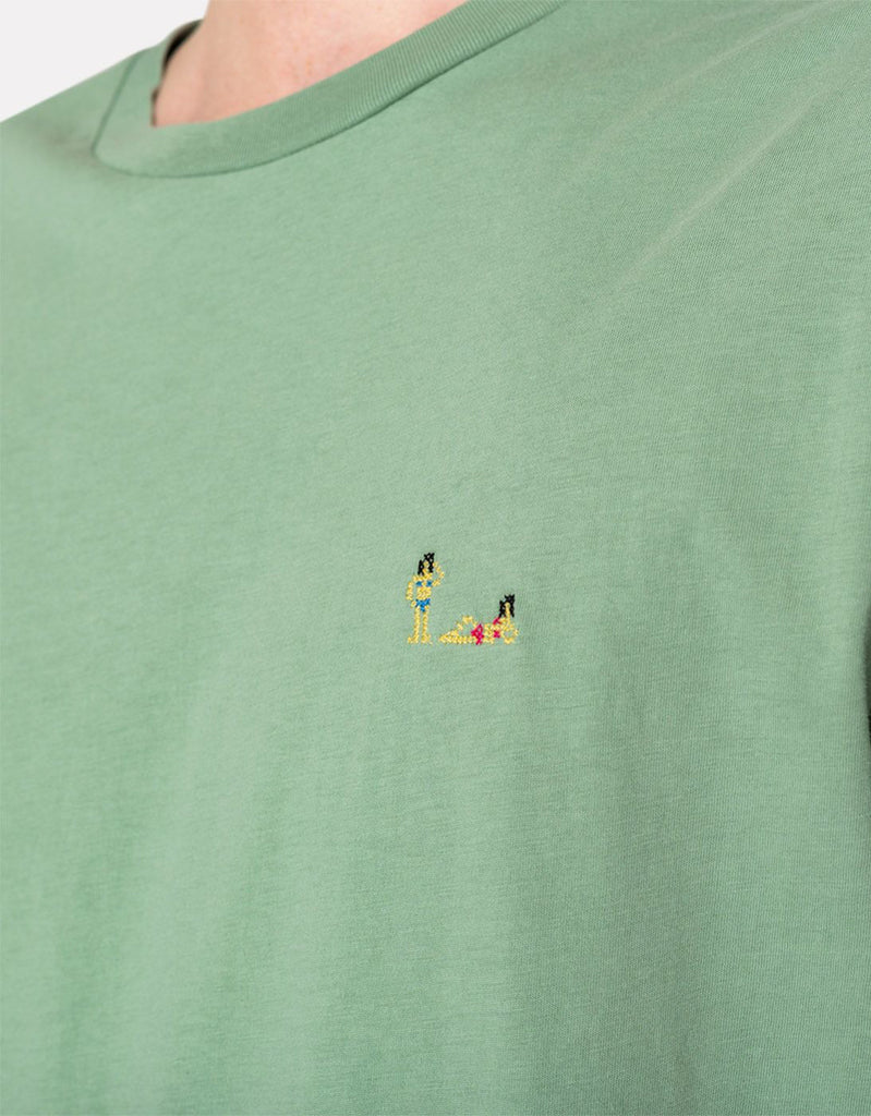 Camiseta Nudists - light green